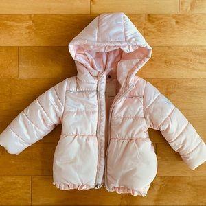 3Pommes Puffy Parka Jacket Winter Coat 9-12 mos